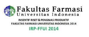 Insentif Riset dan Pengmas Produktif FFUI 2014