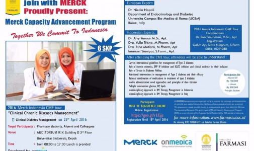 MERCK CAPACITY ADVANCEMENT PROGRAM