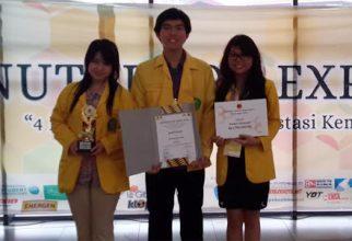 Mahasiswa Fakultas Farmasi UI Meraih Juara II dalam Lomba LKTI Nutrition Expo 2014