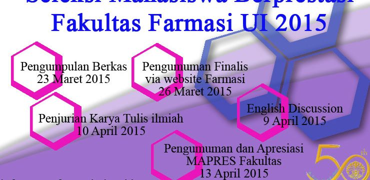 UPDATE: MAPRES Fakultas Farmasi UI 2015