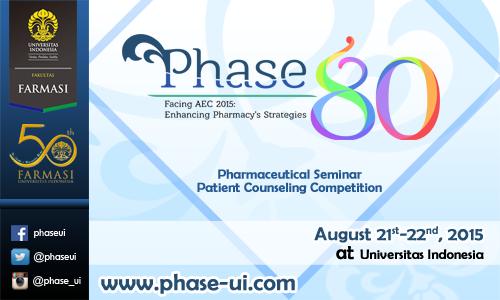 Pharmaceutical Seminar (PHASE) 80th