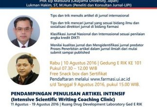 Online Registration Workshop Finding Assessing and Writing Journal