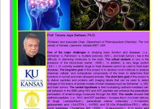 GUEST LECTURE FROM THE UNIVERSITY OF KANSAS, USA