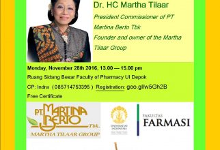 Guest Lecture from Martha Tilaar