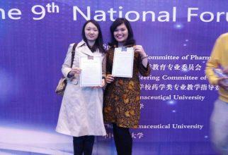 Mahasiswa Farmasi UI Unjuk Gigi di Nanjing, China
