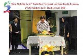 Dies Natalis ke-5th Fakultas Farmasi UI – Orasi Ilmiah oleh Prof. Dr. Effionora Anwar, MS., Apt.