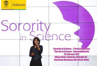 Pembukaan Batch Baru Awardee, SIS L'Oreal Indonesia Mengundang Mahasiswi Apoteker UI sebagai Motivator
