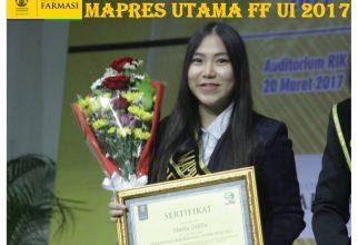 Sheila Odilia, Mahasiswa Berprestasi FF UI 2017