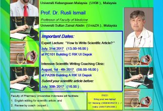 Expert Lecture & Intensive Scientific Writing Coaching Clinic