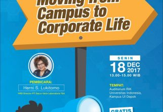 """Career Talk: Moving from Campus to Corporate Life"""