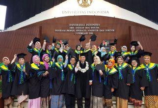 Prosesi Upacara Wisuda Semester Gasal 2017/2018 di Balairung UI