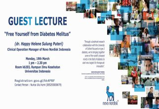 Guest Lecture by Novo Nordisk Indonesia