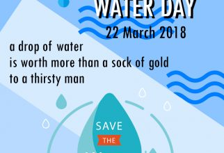 Save good Water for good Future, Happy World Water Day 2018!!