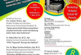 Seminar dan Workshop HPLC
