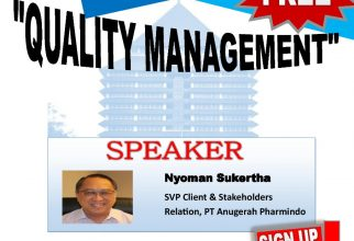 "Guest Lecture – APL : ""Quality Management"""