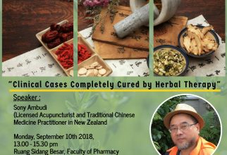 Public Lecture – Traditional Chinese Medicine