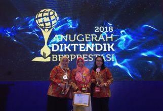 Tendik FF UI sabet Juara dalam Penganugerahan Diktendik Berprestasi Nasional 2018