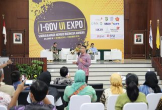 FF UI ikut serta Pameran I-GOV UI Expo 2018