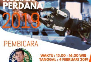Kuliah Perdana Semester Genap 2019