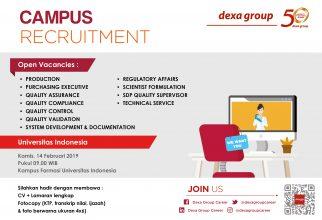 Campus Recruitment – Dexa Group