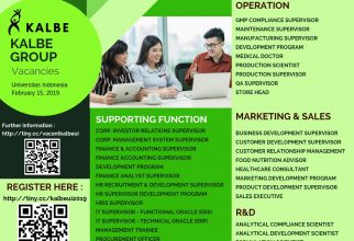Campus Recruitment Kalbe Group