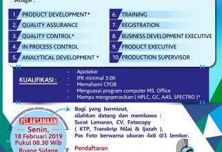 Campus Recruitment PT. Novell Pharmaceutical Laboratories