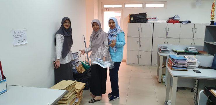 Menghadapi Tahun Ajaran Baru 2019/2020 FF UI Melaksanakan Kegiatan Bersih-bersih Fakultas