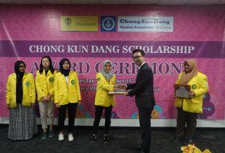 FF UI Kembali Menggelar Chong Kun Dang Scholarship Award Ceremony 2019