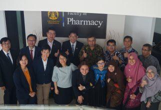 Kunjungan Prince of Songkla University, Thailand ke Fakultas Farmasi UI