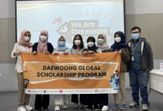 Mahasiswa FFUI Mengikuti Daewoong Pharmaceutical R&D Education Internship Program selama 5 bulan di Korea