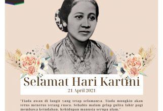 Selamat Hari Kartini (21 April 2021)