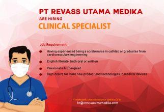 Job Vacancy PT Revass Utama Medika